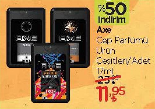 Axe Cep Parfümü Çeşitleri 17 ml image