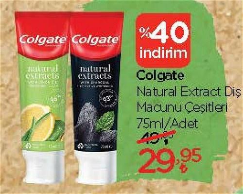 Colgate Natural Extract Diş Macunu Çeşitleri 75 ml image