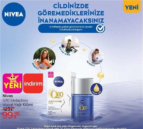 Nivea Q10 Sıkılaştırıcı Vücut Yağı 100 ml image