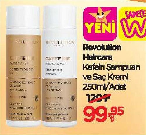 Revolution Haircare Kafein Şampuan ve Saç Kremi 250 ml image