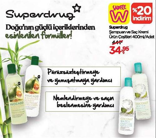 Superdrug Şampuan ve Saç Kremi Çeşitleri 400 ml image