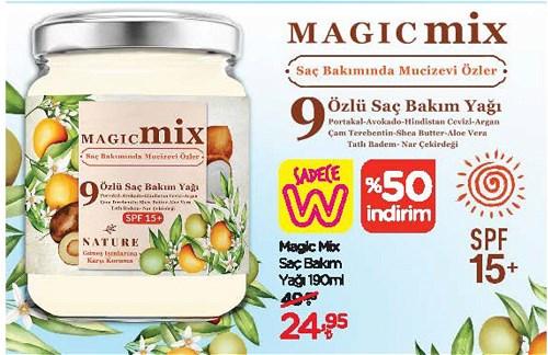 Magic Mix Saç Bakım Yağı 190 ml image