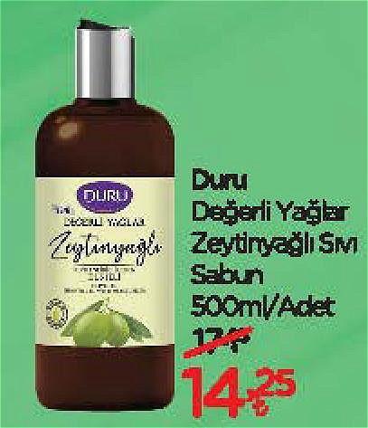 Duru Değerli Yağlar Zeytinyağlı Sıvı Sabun 500 ml image