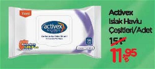 Activex Islak Havlu Çeşitleri/Adet image
