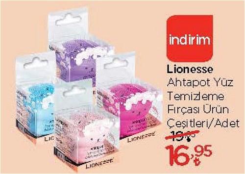 Lionesse Ahtapot Yüz Temizleme Fırçası Çeşitleri/Adet image