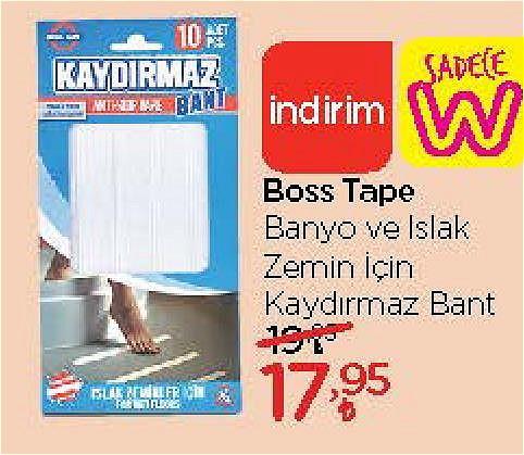 Boss Tape Banyo ve Islak Zemin için Kaydırmaz Bant image
