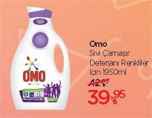 Omo Sıvı Çamaşır Deterjanı Renkliler için 1950 ml image