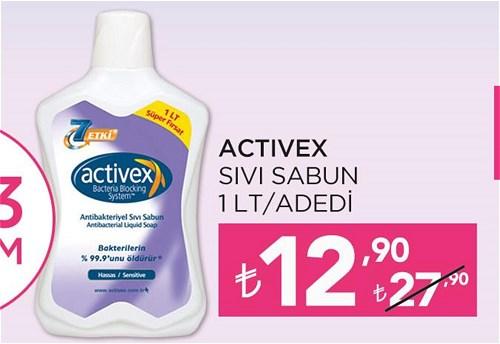 Activex Sıvı Sabun 1 lt image