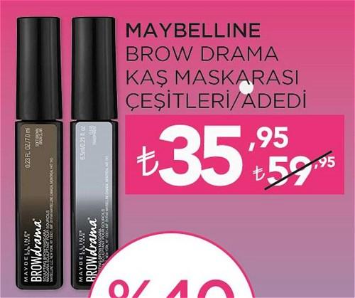 Maybelline Brow Drama Kaş Maskarası Çeşitleri/Adedi image