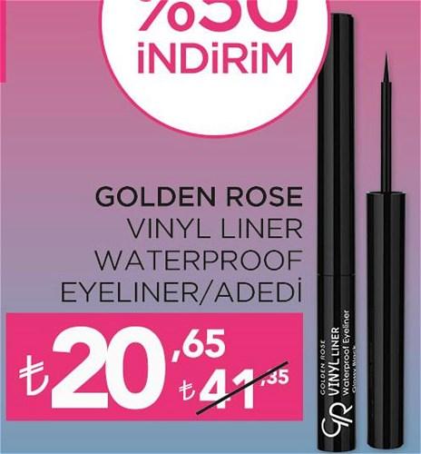 Golden Rose Vinyl Liner Waterproof Eyeliner image