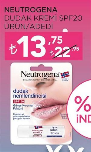 Neutrogena Dudak Kremi Spf20  image