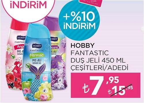 Hobby Fantastic Duş Jeli 450 ml Çeşitleri image