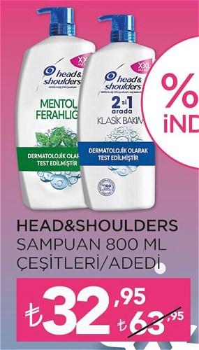 Head&Shoulders Şampuan 800 ml Çeşitleri image