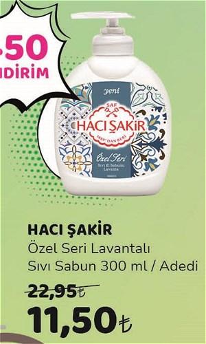 Hacı Şakir Özel Seri Lavantalı Sıvı Sabun 300 ml image