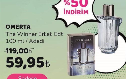 Omerta The Winner Erkek Edt 100 ml image