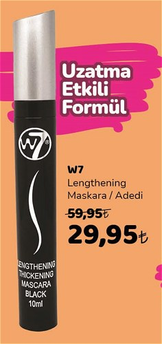 W7 Lengthening Maskara image