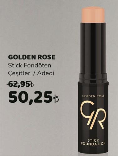 Golden Rose Stick Fondöten Çeşitleri/Adedi  image