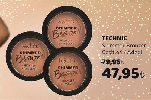 Technic Shimmer Bronzer Çeşitleri/Adedi image