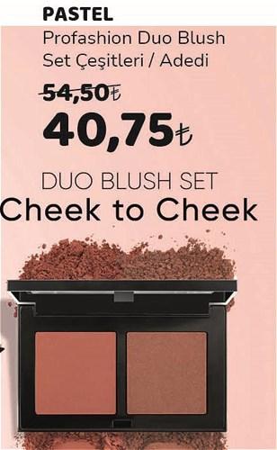 Pastel Profashion Duo Blush Set Çeşitleri/Adedi image