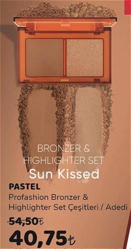 Pastel Profashion Bronzer&Highlighter Set çeşitleri/Adedi image