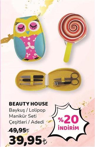 Beauty House Baykuş/Lolipop Manikür Seti Çeşitleri Çeşitleri image