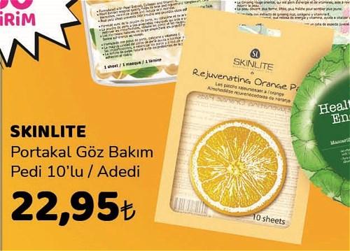 Skinlite Portakal Göz Bakım Pedi 10'lu image