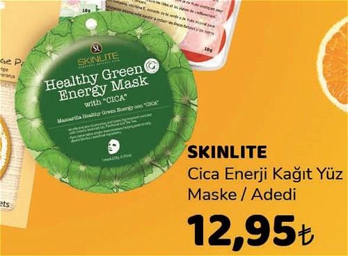 Skinlite Cica Enerji Kağıt Yüz Maske image