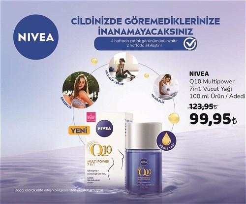 Nivea Q10 Multipower 7in1 Vücut Yağı 100 ml image