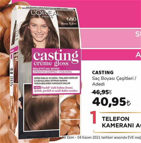 Casting Saç Boyası Çeşitleri/Adedi image