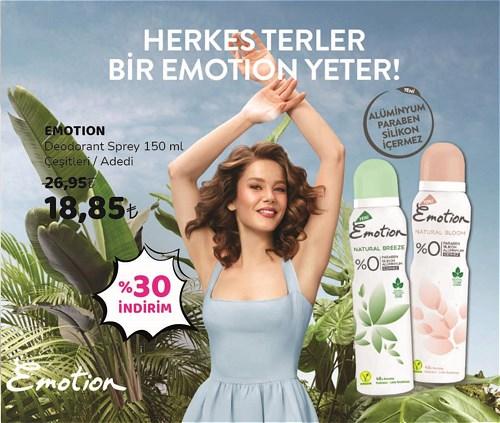 Emotion Deodorant Sprey 150 ml Çeşitleri image