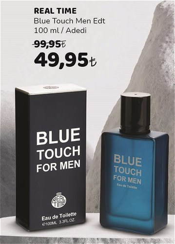 Real Time Blue Men Edt 100 ml image