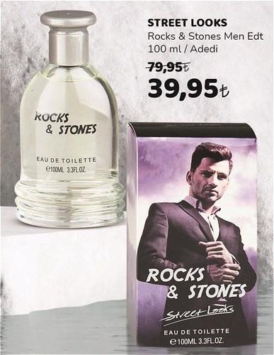 Street Looks Rocks&Stones Men Edt 100 ml image