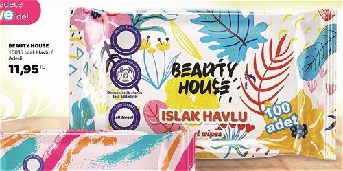Beauty House 100'lü Islak Havlu image