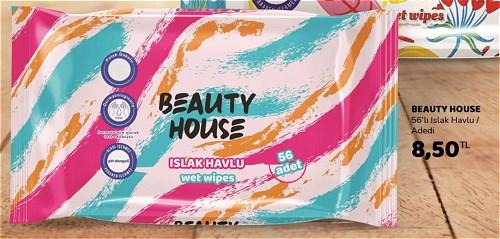 Beauty House 56'lı Islak Havlu image