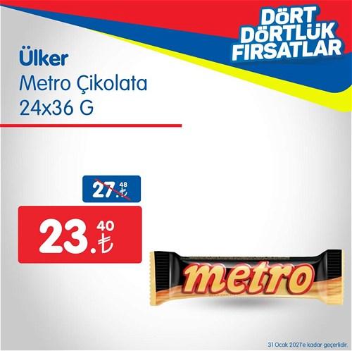 Ülker Metro Çikolata 24x36 g image
