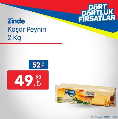 Zinde Kaşar Peyniri 2 kg image
