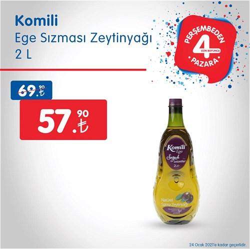 Komili Ege Sızması Zeytinyağ 2 l image