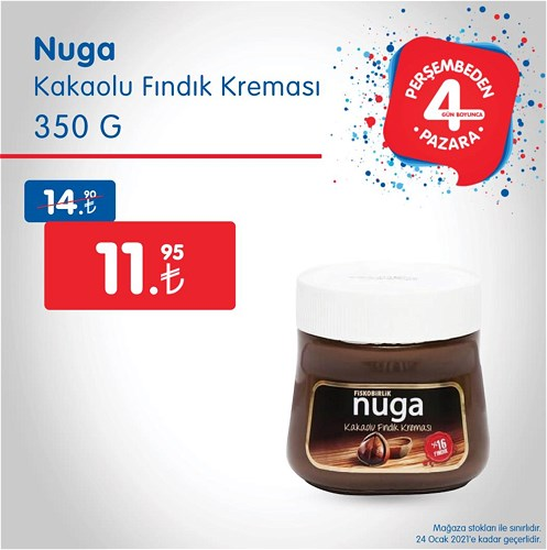 Nuga Kakaolu fındık Kreması 350 g image