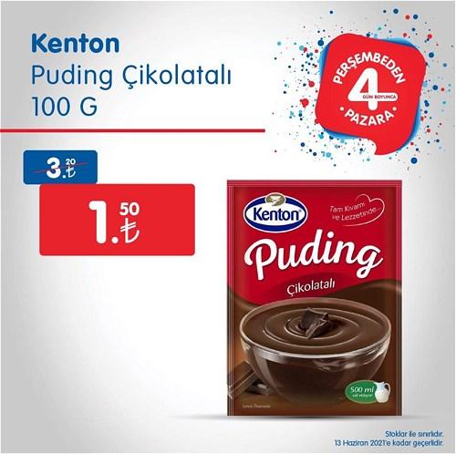 Kenton Puding Çikolatalı 100 g image