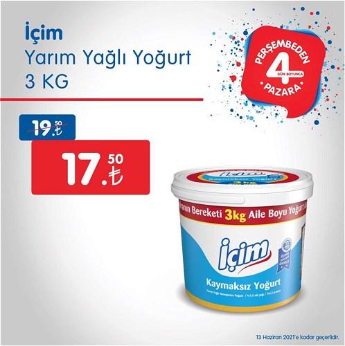 İçim Yarım Yağlı Yoğurt 3 kg image