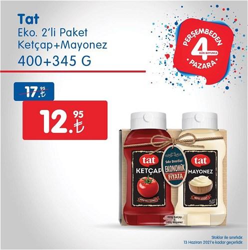 Tat Eko 2'li Paket Ketçap+Mayonez 400+345 g image