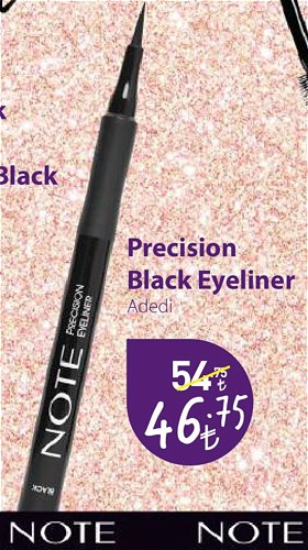 Note Precision Black Eyeliner image