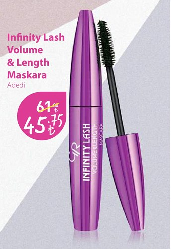 Golden Rose Infinity Lash Volume & Length Maskara image