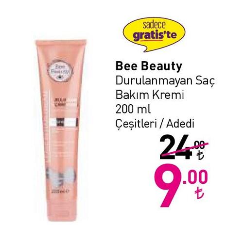 Bee Beauty Durulanmayan Sac Bakim Kremi 200 Ml Indirimde Market