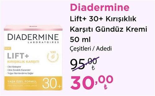 Diadermine Lift+30+Kırışıklık Karşıtı Gündüz Kremi 50 ml Çeşitleri/Adet image