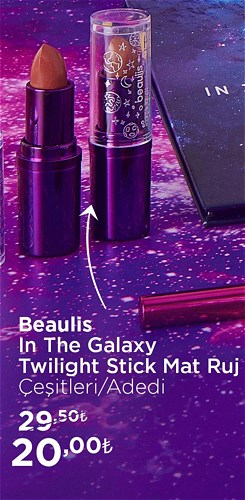 Beaulis In The Galaxy Twilight Stick Mat Ruj Çeşitleri/Adet image