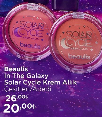 Beaulis In The Galaxy Solar Cycle Krem Allık Çeşitleri/Adet image