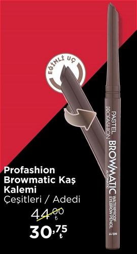 Pastel Profashion Browmatic Kaş Kalemi Çeşitleri/Adet image