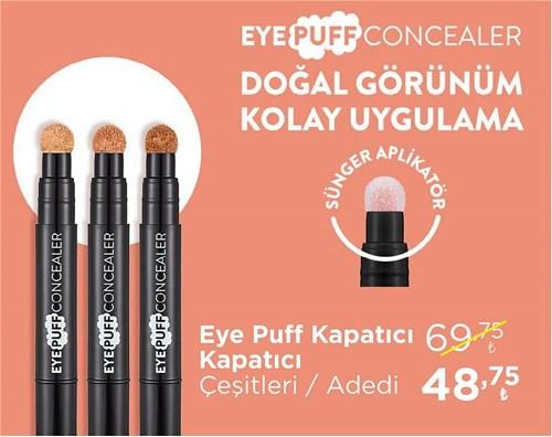 Flormar Eye Puff Kapatıcı Çeşitleri/Adet image
