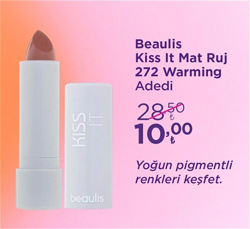 Beaulis Kiss It Mat Ruj 272 Warming image